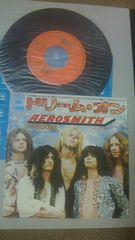 エアロスミス7インチシングルレコード超超名曲ドリーム・オンエアロスミスの原点