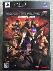 デッドオアアライブ5 コレクターズエディション 新品同様 PS3