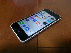 即落/即発!!美中古品 iPhone 5c 16GB ホワイト