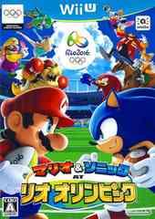 WiiU#マリオ&ソニック AT リオオリンピック 新品