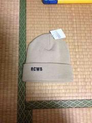 RCWB ロデオ 未使用 帽子ベージュ