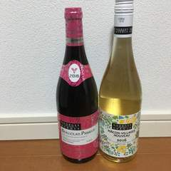 ワイン福袋ボジョレーヌーボー赤・白フルボトル2本セット!