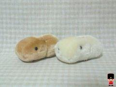 カピバラさんビッグちびふわマスコット全2種セット(カピバラ&ホワイト)