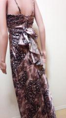 キャバSection  R…背編みデカリボンの豹柄ドレス☆3点で即落☆