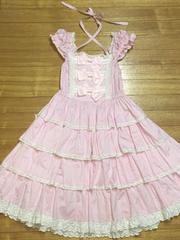 BABY,THE STARS SHINE BRIGHT リボンミルキージャンパースカート
