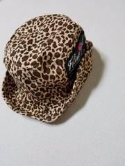 ヒョウ柄帽子*52�p