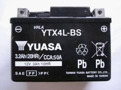 �����i�����A�T�V�i�o�b�e���[YTX4L-BS NSR250R/SE/SP