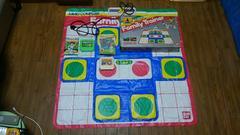 ファミコン・ファミリートレーナーマット+カセット2本セット!!