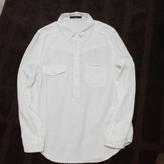 新品アズールバイマウジー*ホワイトシャツ