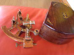 船の、位置を、調べる道具