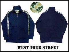 新品 west tour street カモフラ セットアップ 紺 XL