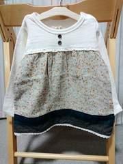 ラス1sale★新品★porochon★長袖Tシャツ★80�p