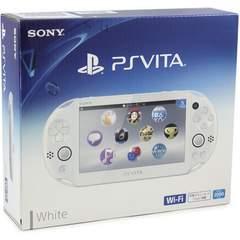 即決■中古 PSVita Wi-Fiモデル グレイシャーホワイト PCH-2000ZA 付属品有