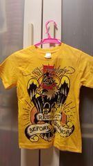 ハワイ購入エドハーディーキッズ用Tシャツ新品イエロー