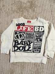 BABY DOLLsize�W�O�g���[�i�[��i
