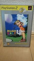 �݂�Ȃ�GOLF4 PS2