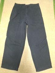 Cラルフローレン 黒パンツ 34