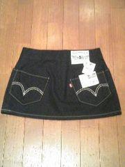 新品Levi's(リーバイス7751)ミニスカートS69