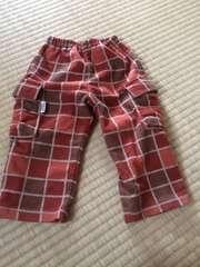男の子用ズボン 80 コンビミニ 男女兼用 フリース素材保育園服