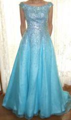 キラキラ高級シンデレラドレス9号ウェディングドレスカラードレス