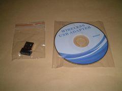 USB無線LAN子機【150Mbps/11n対応】・・WiFi・・◆新品