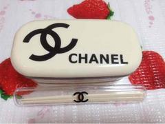 CHANEL 2段式ランチボックス & ケース入りお箸セット