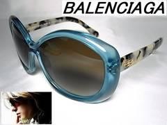 バレンシアガ サングラス クリアブルー BAL0127/S 05UIF 32400円 本物 新品