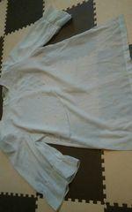 新品 ホワイト ブラウス Mサイズ