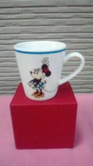 【新品】ディズニー/Disneyミニーマウスラインマグカップ(ミニー)