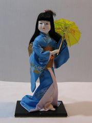 処分】宇平人形【T-3】日本人形