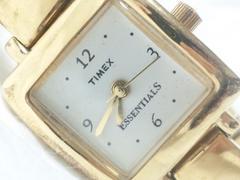 2403復活祭★TIMEXタイメックス☆ESSENTIALSゴールドブレスレットレディース腕時計