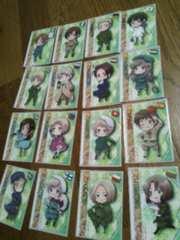 ヘタリア トレーディングカードたくさん