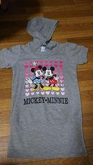 ミッキー ミニー フード付Tシャツ