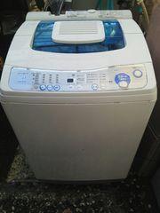 送料無料 三菱 風呂水 カラット機能付き 7キロ 洗濯機 取説付き