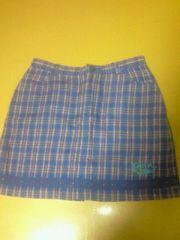 中古BETTY'S BLUE ミニスカート(青チェック)