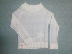 透けニット長袖/セーター/トップス/150cm