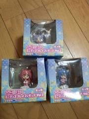 らき☆すた ミニディスプレイフィギュア 3種類