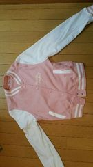 ピンクのジャンパー【Mサイズ】