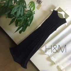 H&M ロングマキシ丈ワンピース