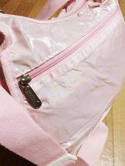 レスポートサック/LESPオーロラ加工ナイロンショルダーバッグ