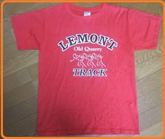 USED下北沢購入カレッジ風Tシャツ古着ヴィンテージ赤M