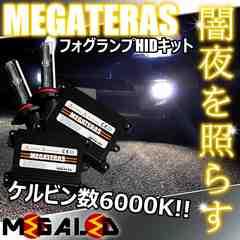 超LED】セレナC26系前期/フォグランプHIDキット/H8/6000K