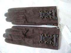 ラシャンブルドインエ スェード蓋皮革手袋21ラッピング