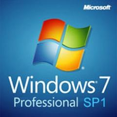 Windows 7 Professional 64bit/32bit SP1�K�p OEM��