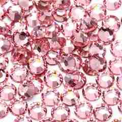 ネイルスワロ風高級ガラスストーン1.9�o100粒ライトピンク