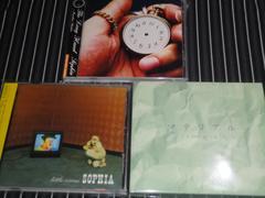 SOPHIA『LITTLE CIRCUS』+『マテリアル』+『LONG HAND』3枚セット