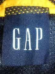 GAP ギャップ ベスト チョッキ メッシュ イエロー 反射 XL ナイロン ウォーキング