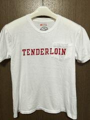 完売!テンダーロイン半袖ロゴプリントポケットTシャツtenderloinhanes白S