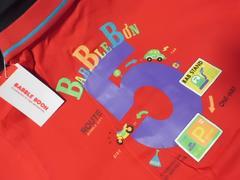 ブランド『BABBLE BOONバブルブーン』新品半袖ポロTシャツ95