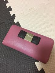 中古★dazzlinピンクロング財布